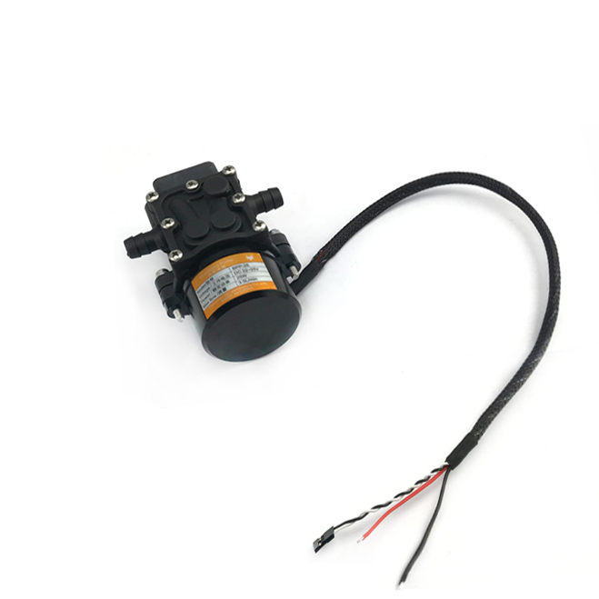 1PCS 44V High-pressure Brushless Pump Built-in ESC 35W 3.8L/min Water  Low-noise Light Weight Sprayer System for RC Plant UA