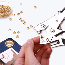 Lever-tech Effortless Eyelet Punch Tab Paper Hole Punch Craft Punchers  Scrapbooking Tools for Card Making Planner Accessories
