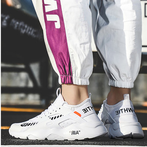 Image 1 - أحذية رجالي قابلة للتنفس 39 ~ 46 خفيفة الوزن 2019 موضة أحذية رياضية للرجال # LAG32