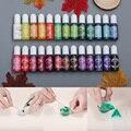 26 farben 10ml Epoxy UV Harz Mix Farbe Farbstoff Farbstoff Harz Pigment Schnell Trocknend für DIY Handwerk Handgemachten Schmuck machen Werkzeuge