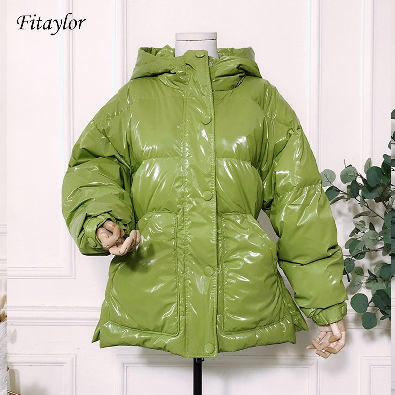 Fitaylor New 90% Ultra Light White Duck Down Jacket Winter Women Hooded With Belt Parkas Female Warm Snow Down Outerwear