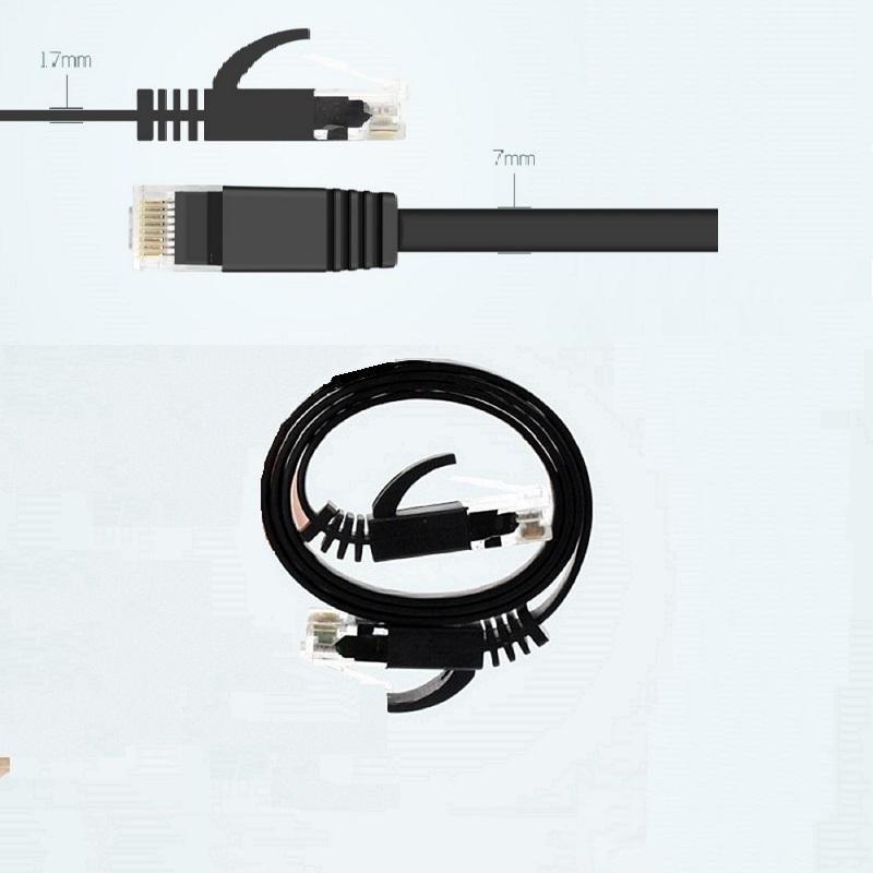 Kabel CAT6 flache twisted pair Ethernet netzwerk kabel RJ45 ergänzen LAN kabel