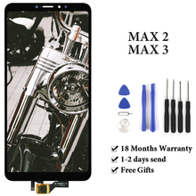 For xiaomi MAX 2 /MAX 3 LCD Screen high Quality Digitizer With/No Frame Replacement Assembly LCD For xiaomi MAX 2 /MAX 3 Display max