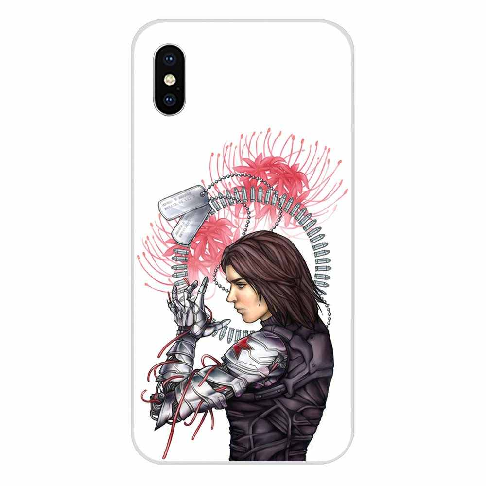 קפטן אמריקה חורף חייל עבור Huawei נובה 2 V20 Y3II Y5 Y5II Y6 Y6II Y7 Y9 G8 G9 GR3 GR5 GX8 ראש 2018 2019