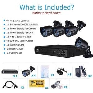 Image 5 - JOOAN 8CH DVR videoregistratore CCTV 4PCS 1080P sicurezza domestica impermeabile visione notturna kit di sorveglianza del sistema di telecamere di sicurezza