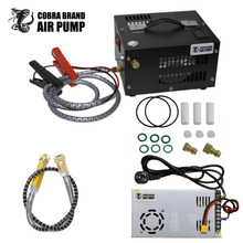 Кобра 300bar 30mpa 12v pcp compressorWith 110/220 В трансформатор 12V pcp compressor4500psi компрессор