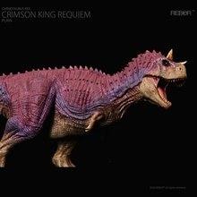 Nouveau jouet de dinosaure classique pour garçons, carnosaure Rex à sertir King, modèle de dinosaure simple, en Stock