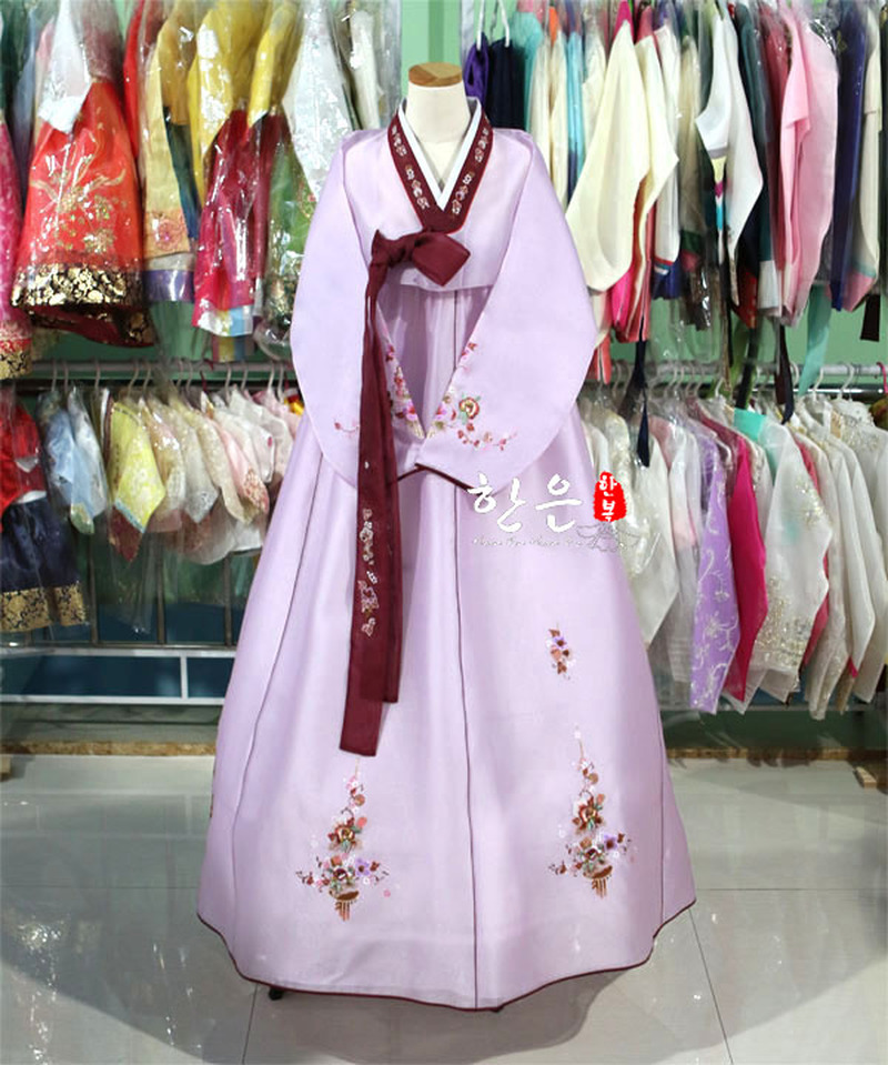 South Korea Imported Hanbok High-grade Fabric / Mother Hanbok / Wedding Hanbok