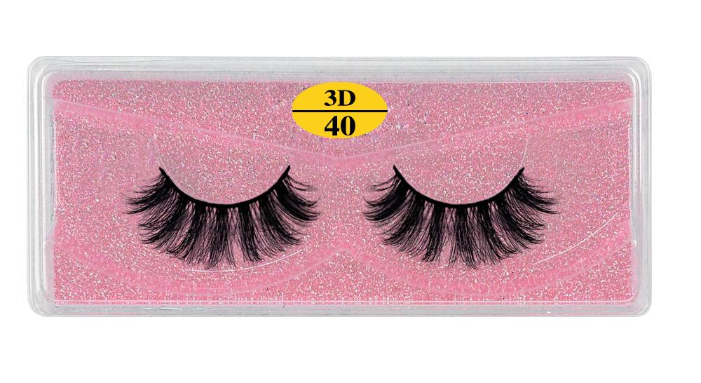H0b40b020cd184d539e29e76ac76808aaH - MB Eyelashes Wholesale 40/50/100/200pcs 6D Mink Lashes Natural False Eyelashes Long Set faux cils Bulk Makeup wholesale lashes