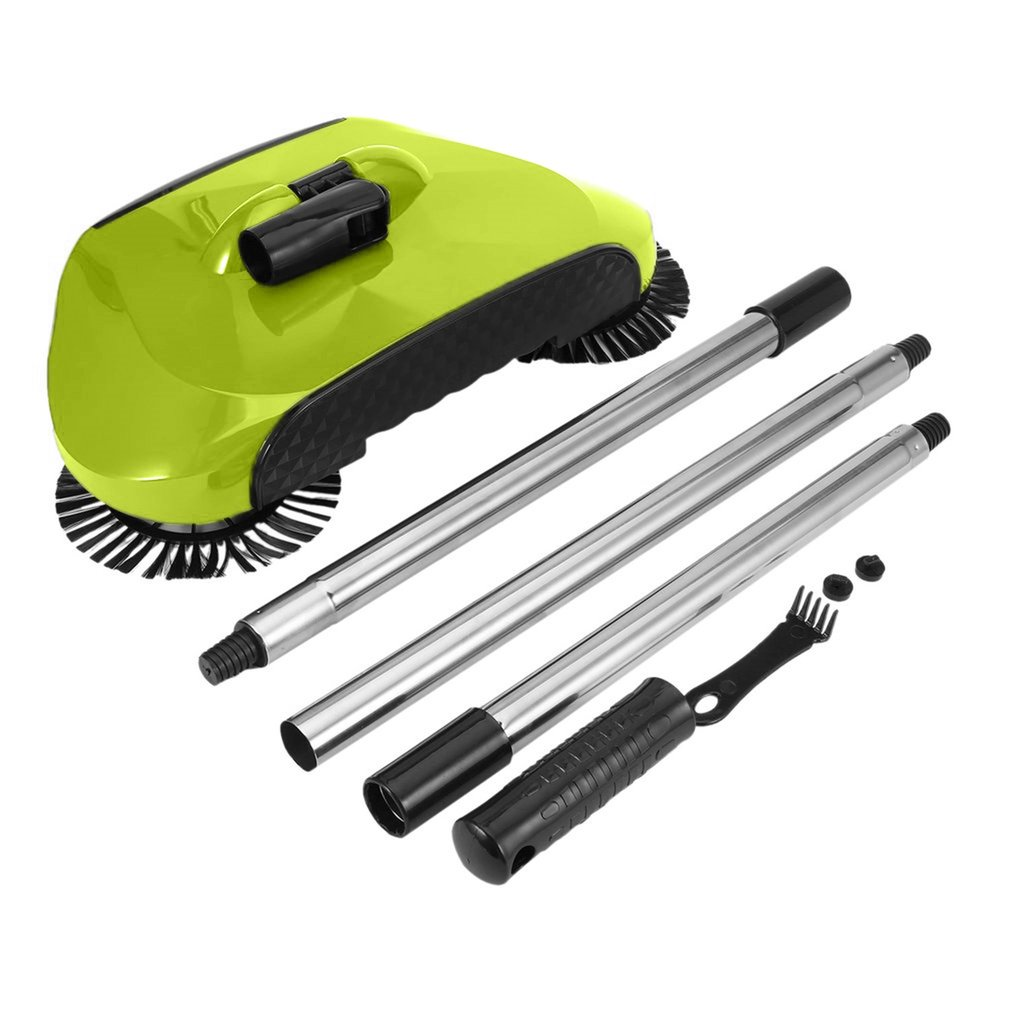 Dustpan-Set Broom Sweeping-Machine Vacuum-Floor-Cleaner Hand-Propelled-Sweeper Household title=