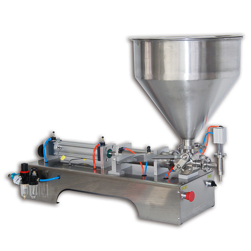10-200 ml/30-500 ml/100-1000 ml Pneumatische Pasta Vulmachine Vloeibare Vulling machine Kleine Nagellak Saus Jam Fles Vulmiddel