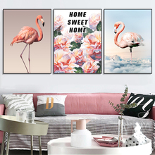 Laeacco Scandinavian Flower Swan Canvas Painting Living Room Kid Room Decoration Poster Wall Art Print Picture Modern Home Decor modern black swan and white swan canvas painting print poster picture home bedroom wall art painting decoration can be customize