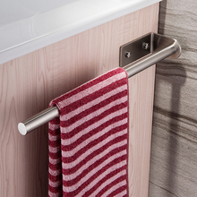Towel Holder 40CM Bathroom Rod Stainless Steel Brushed Bath Rack Wall Mounted Hanger Towels Bar Hot