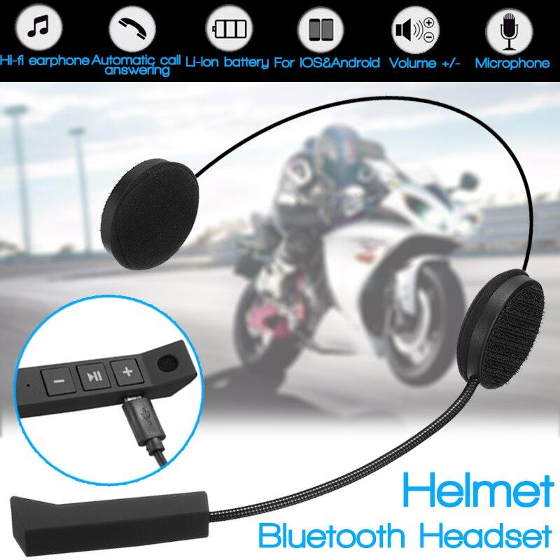 2019 mikrofon Lautsprecher Motorrad Helm Headset Weichen Zubehör Für Motorrad Intercom Arbeit