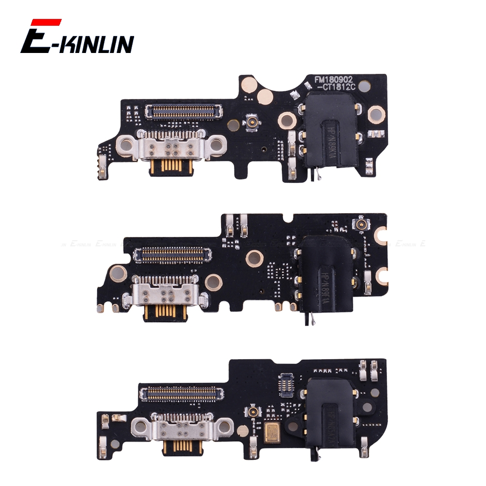 Power Charger Dock USB Charging Port Plug Board With Microphone Mic Flex Cable For Meizu 16 16th 15 Plus X8 M8 Lite
