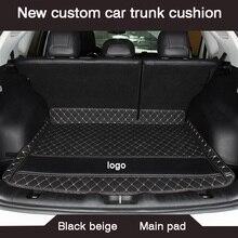 HLFNTF ใหม่ CUSTOM Car Trunk Cushion สำหรับ Peugeot 308 206 508 5008 301 2008 307 207 3008 2012 รถกันน้ำอุปกรณ์เสริม