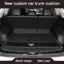 HLFNTF New custom car trunk cushion for peugeot 308 206 508 5008 301 2008 307 207 3008 2012 waterproof car accessories
