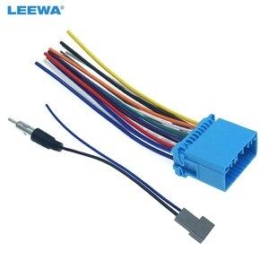 LEEWA 10 комплект, автомобильный аудио стерео головной убор с радио антенной, кабель адаптера для Honda/Acura/Mazda/Suzuki # CA1577