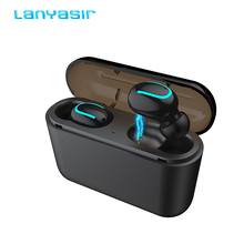 Buy Lanyasir TWS Headset Ture Wireless Earphones HBQ Q32 Bluetooth 5.0 Headset With Mic Mini Bluetooth Earbud Earphone PK i200 directly from merchant!