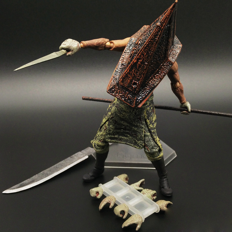 Silent Hill Action Figure Pyramid Head Figma Pvc 150mm Collectible
