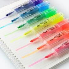 7 шт прозрачный Форма маркер ручка картины ароматный флуоресцентный