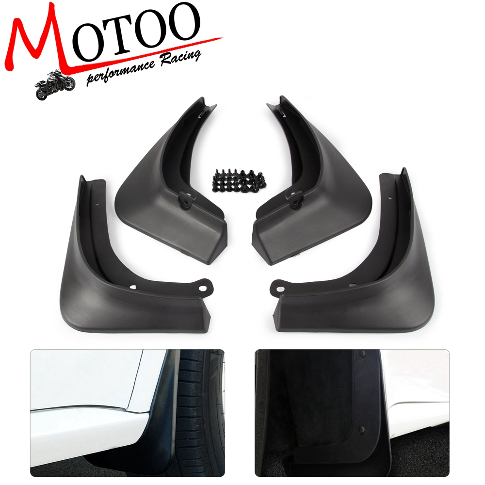 4PCS/SET Car Mud Flaps Fender Mudflaps Flap Front Rear Mudguard SplashGuard Guards For Tesla Model 3 Model3 2016 2017 2018 2019-in Mudguards from Automobiles & Motorcycles