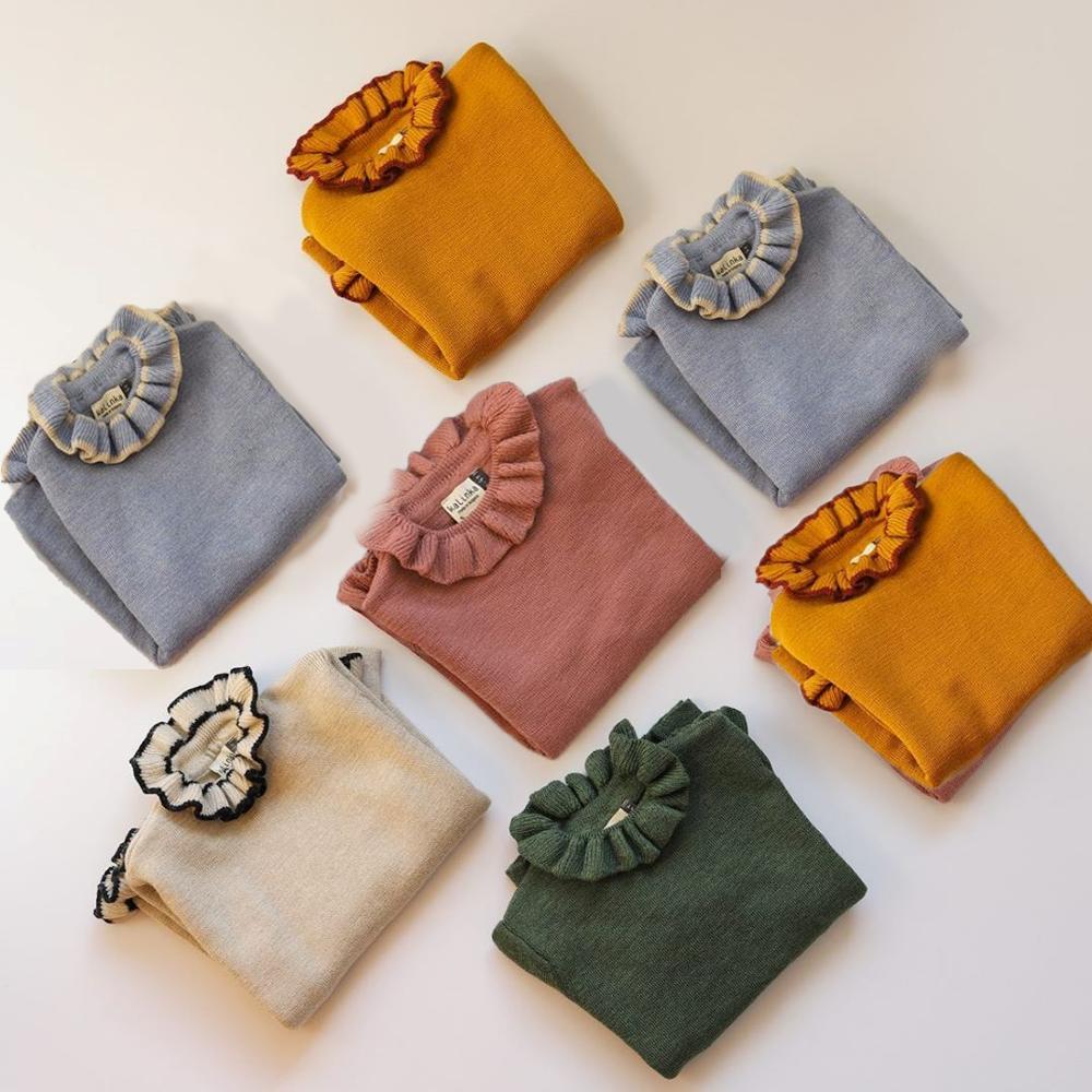 New Winter Kalinka Kids Clothes Girls Sweater Baby Bloom Neck Fashion Knit Cardigan Children Cotton Wool Tops Boys Clothing 6