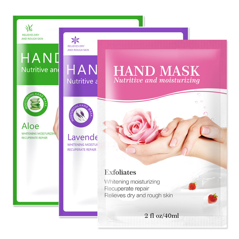 1/2/3Pair Aloe Hand Mask Moisturizing Gloves Hyaluronic Acid Paraffin Gloves Whitening Hand Skin Care Mask Anti Dry Rough Hands