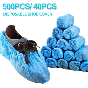Shoe-Cover Carpet-Protectors Over-Shoes Disposable Rainy-Season for Anti-Slip Safety