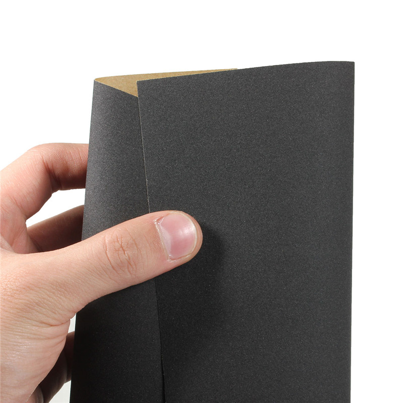 7Pcs/Set 230x280mm Sandpaper 400-1200 Grit Wet Dry Waterproof Sandpaper Granularity Metal Wood Polishing Sandpaper Grits