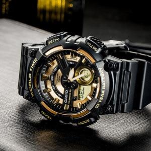 Image 4 - Casio watch Bán chạy nhất đồng hồ nổ nam thiết lập thương hiệu hàng đầu sang trọng quân đội đồng hồ kỹ thuật số relogio thể thao 100m không thấm nước thạch anh đồng hồ relogio masculino reloj hombre erkek kol saati