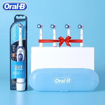 Oryginalna Oral B elektryczna soniczna szczoteczka do zębów DB4010 usuń baterię obrotowa szczotka do zębów precyzyjnym czyszczeniem Braun szczoteczka do zębów głowa dla dorosłych