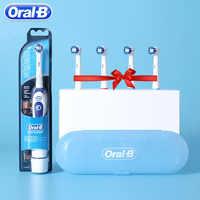 Véritable Oral B Sonic brosse à dents électrique DB4010 enlever batterie brosse à dents rotative précision propre Braun dents brosse tête adulte