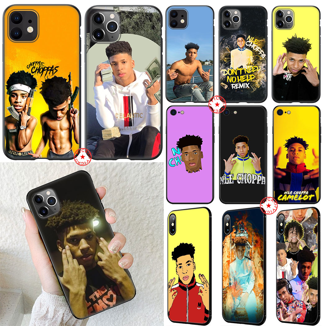 Rapper Nle Choppa Soft Silicone Case For Iphone 11 Pro Xr X Xs Max 6 6s 7 8 Plus 5 5s Se Cover Fitted Cases Aliexpress