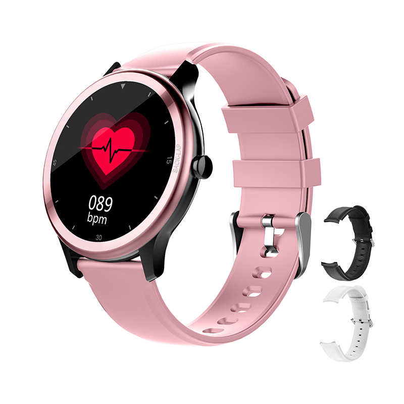 women's smart watch waterproof Multi-sport mode watches Message Reminder Alarm Clock weather health Smartwatch for ios Android