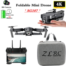 Mini Drone with WIFI FPV 4K HD Camera Optical Flow Follow Quadcopter Fixed High Gesture Selfie RC Drone VS E58 E68 Dron Toy Gift