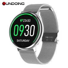 RUNDOING R7 Smart orologi Impermeabile Sport per iphone del telefono Astuto della vigilanza di Frequenza Cardiaca Monitor di Pressione Sanguigna Per Le Donne degli uomini del capretto