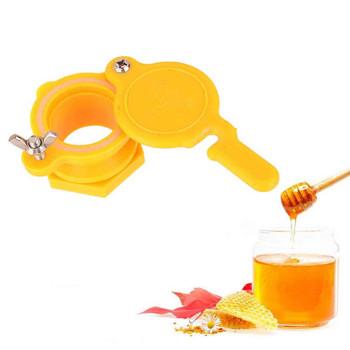 25 # miód ekstraktor spust miodu miód zawór miód dotknij pszczelarstwo narzędzia do butelkowania dostawy pszczelarskie sprzęt narzędzia pszczelarskie tanie i dobre opinie ISHOWTIENDA CN (pochodzenie) Plastic Bee Honey Tap Gate