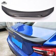 For Toyota 86 2012-2015 LEG style Carbon fiber rear trunk spoiler lip For Scion GT86 For Subaru BRZ Car styling back wing 2pcs set carbon fiber side skirt molding mudflap trims for subaru brz 2013 2017 toyota 86 2012 2017 car styling
