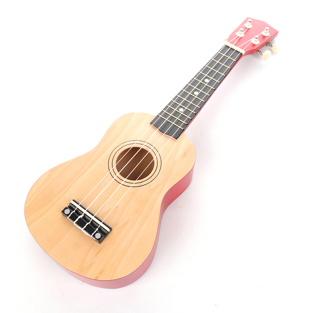 21 Inch Colorful Ukulele Acoustic Acoustic Soprano Ukulele 4 Strings Hawaii Guitar Music Instrument for Kids and Music Beginner