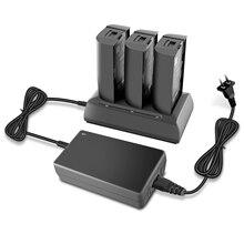 Cargador de batería 3 en 1 para Parrot Bebop2, concentrador de carga de equilibrio, cargador de llenado rápido RC para Parrot Bebop 2