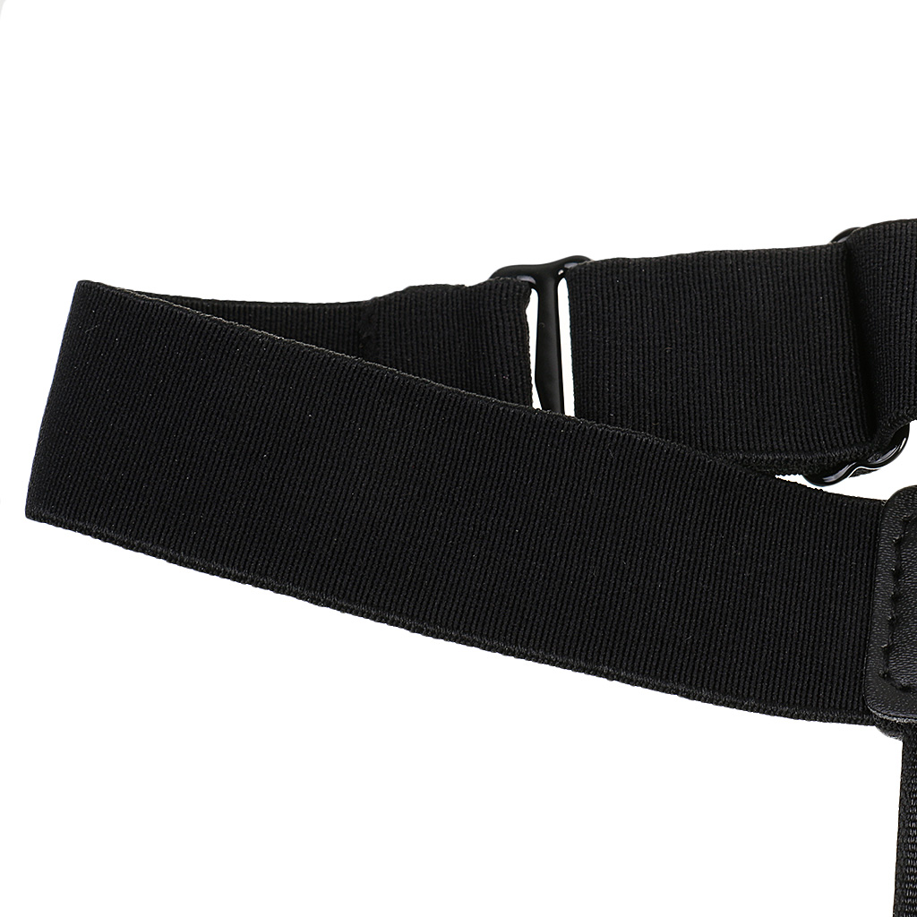 1 Pair Mens Adjustable Shirt Stays With Clip,keep Shirt Straight And Firm