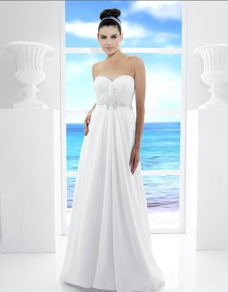 Free Shipping Chiffon A-line Sweetheart Open Back Custom Crystals Opals Glass Seed Beads Bridal Gown 2018 Bridesmaid Dresses