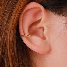 LETAPI Minimalist Jewelry Ear Cuff Clip Earrings Without Piercing Korean Gold One Direction Earcuff Non Pierced