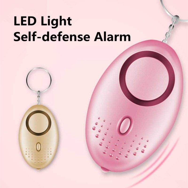 Clearance Sale Items Children Women Girls Self Defense Anti-attack Alarm With LED Light Defensa Personal Safety Equipment