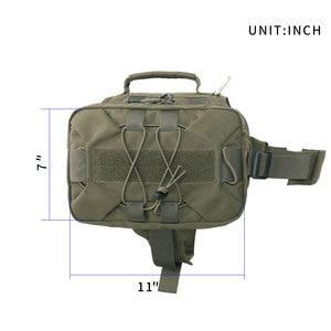 Image 2 - EXCELLENT ELITE SPANKER Dog Pack Hiking Backpack Dog Saddle Bag  for Camping Medium & Large Dog with 2 Capacious Sides Pock