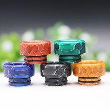 Punta a goccia 810 della pelle di serpente Della Resina supporto di sigaretta accessori In Resina Bocchino per TFV8 Grande Bambino/TFV12 con O- anello