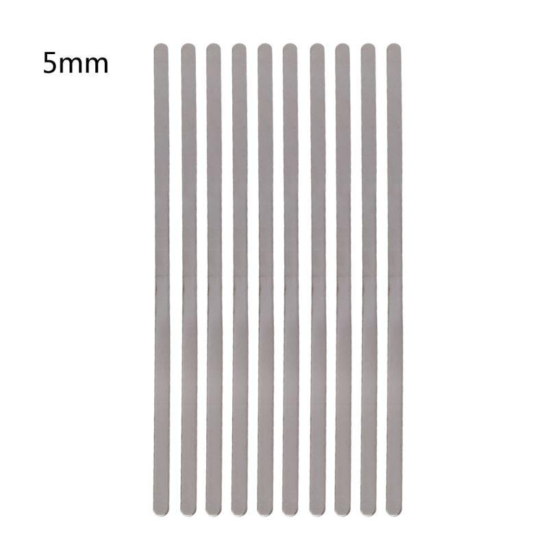 Пустая плоская штамповка, пустые браслеты для изготовления ювелирных изделий, 10 шт.