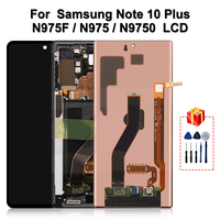 Original For Samsung Galaxy Note 10 Plus LCD Display Touch Screen Digitizer Assembly For Note10+ N975 N9750 Replacement Parts