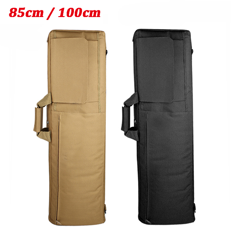 85cm / 100cm Nylon Tactical Airsoft Hunting Rifle Case Protection Shoulder Bag Heavy Duty Military Gun